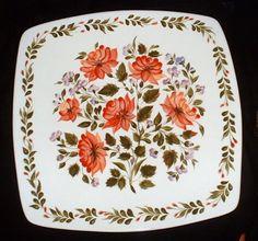 My painting in Ukrainian  Folk art style - Petrikivka  on ceramic