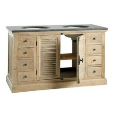 Double sink cabinet  - Persiennes