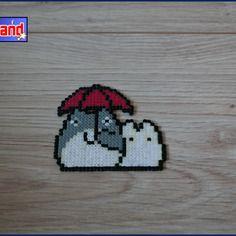Totoro unitaire en perle hama mini