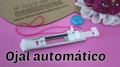 Ojal automático en un solo paso a máquina Bernette London 5 - Sewing Buttonholes
