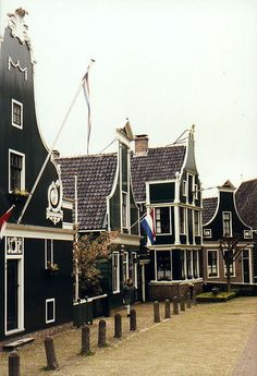 "Zaanse Schans,Holland.Hier is de Nederlands  ""Albert Hein "" zijn eerste supermarkt gestart, in 1900"