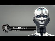 Cinema 4D Tutorial 16 Hard Surface Tecnique - YouTube