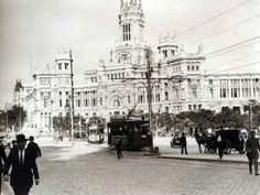 Palacio de Comunicaciones, 1917