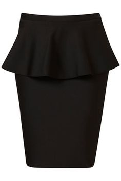 peplum skirt from Topshop