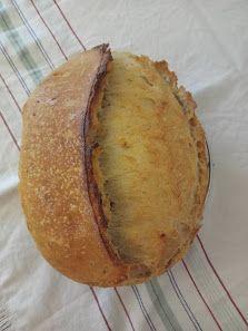 Jednoduchý kváskový chlieb Baked Potato, Potatoes, Baking, Ethnic Recipes, Food, Basket, Potato, Bakken, Essen