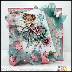 Passionate Paper Creations: Teen Fairy Mia - Mo Manning