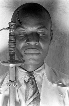 voodoo priest louis romain, haiti 1937 by rex hardy