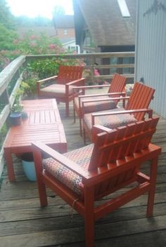 Simple Outdoor Lounge Chair   Do It Yourself Home Projects from Ana White