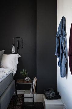 bedroom dark shades