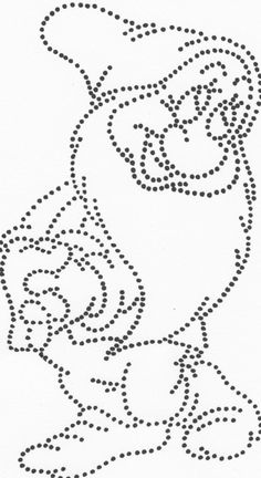 Bashful Dwerg sneeuwwitje String Art Patterns Letters, String Art Templates, Paper Embroidery, Embroidery Patterns, Push Pin Art, Pvc Pipe Crafts, Rhinestone Art, Quilt Stitching, Dot Painting