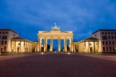 The Brandenburg Gate in Germany
