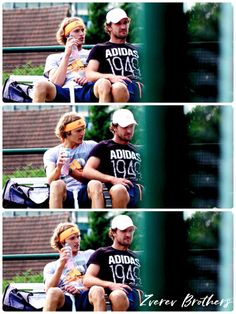"""Little mess """"Zverev brothers"""" from ATPWorldTour.Com"""