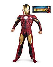 Iron Man 2 Movie - Mark VI Classic Muscle Child Costume - - Includes jumpsuit with muscle torso and arms, mask. Does not include socks. This is an officially licensed Iron Man 2 product. Avengers Costumes, Boy Costumes, Super Hero Costumes, Avengers Outfits, Party Costumes, Running Costumes, Adult Costumes, Iron Man Halloween Costume, Cheap Halloween Costumes