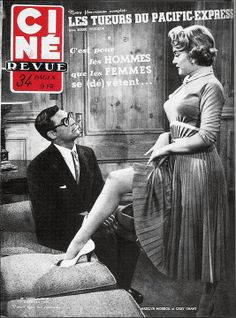 "Cine Revue - October 3rd 1952, French magazine. Front cover photo of Marilyn Monroe and co-star Cary Grant in publicity for ""Monkey Business"", 1952."