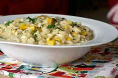 Roasted Chestnut Risotto