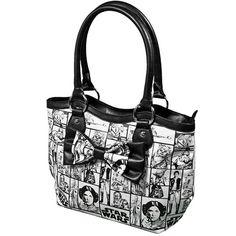 Star Wars Checker Tote Handbag in just $47.95