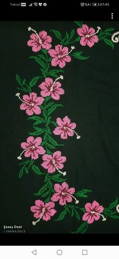 Beaded Cross Stitch, Cross Stitch Rose, Cross Stitch Flowers, Cross Stitch Designs, Cross Stitch Patterns, Diy Crafts Hacks, Smocking, Crochet Projects, Inspiration Tattoos