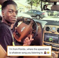 "RCU🍊 We are florida🧡 on Instagram: ""@1804jackboy and @mula_mitch got me 3 speeding tickets😂 Who you be slidin to?🤔👀"" Speeding Tickets, Florida Girl"