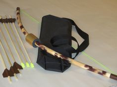 Bow and ArrowsMerida Small set with 6 wooden by PlaySafeToys