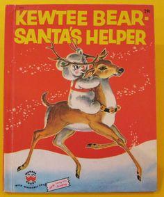 Vintage Mid Century Children's Book - Wonder Books - Kewtee Bear - Santa's Helper by on Etsy Childrens Christmas Books, Childrens Books, Vintage Santas, Vintage Christmas, Christmas Decor, Christmas Cards, Xmas, Prayers For Children, Wonder Book