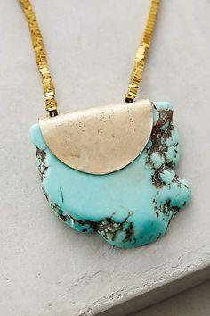 Seastone Pendant Necklace - anthropologie.eu