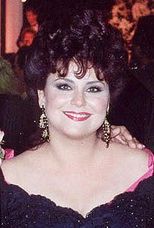Delta  Burke - b 1956 most famous for her role as Suzanne Sugarbaker in Designing Women.