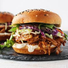 Snowy Saturdays are perfect for these BBQ Jackfruit Sammies. Maybe a little too perfect seeing as…