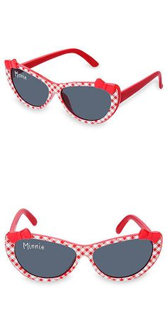61fc264eeef3 Sunglasses 176967  Disney Store Minnie Mouse Gingham Baby Sunglasses Girls  100% Uv Protection New