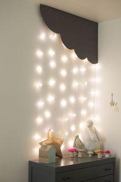 gostei da ideia da cascata de luz
