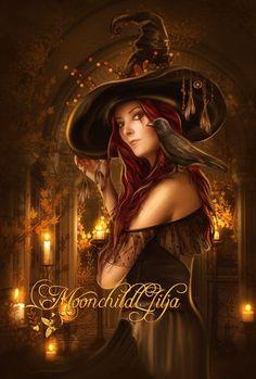 Halloween Magic by moonchild-ljilja.deviantart.com on @deviantART