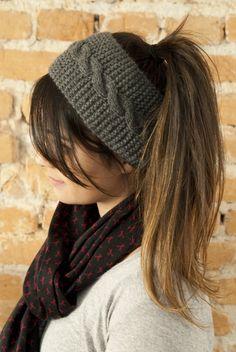 Resultado de imagem para faixa cabelo tricô