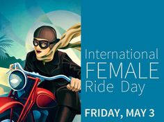 International Female Ride Day - May 3rd