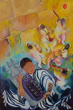 TORAH - chanahelen Out Of The Ark, Simchat Torah, Symbols And Meanings, Desert Life, King David, Boy Meets, Buy Prints, Bar Mitzvah, Painting