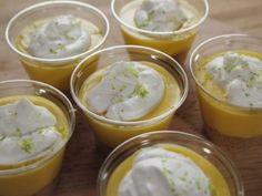 Lime Pies... No baking!! Cute as individual but can easily be made in larger portion.