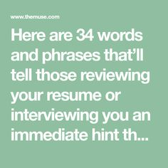Words To Describe Yourself On Resume Simple Use These 8 Words To Describe Yourself During A Job Interview Job .