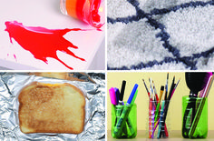 In addition to removing marks and at-home laminating, these babies can even cook your dinner. Here are some amazing iron hacks. Domestic Cleaning Services, Hack My Life, Real Moms, Tricks, Smooth, Homemade, Crafty, Parents