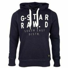 G-Star Raw Men's Trin Hooded Knit Long Sleeve Hoodie
