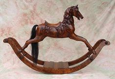 Cherry Carousel Rocking Horse