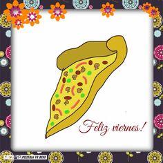Viernes! Hoy es un buen día para compartir con los amigos, a disfrutar de la buena compañía! Que tengan un excelente día! #pizzeriavabene #sada #Spain