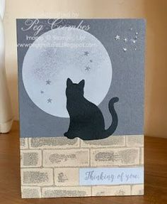 Stampin Up Demonstrator UK Pegcraftalot Peg Coombes: New Cat Punch from Stampin' Up!