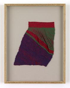 Sheila Hicks, Demenageur, 2008. Silk. 9.125 x 8.125 inches