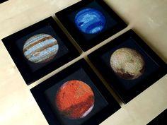 Cross-stitched Solar System By Navid Baraty