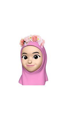 Macaroon Wallpaper, Girl Emoji, Hijab Cartoon, Cute Cartoon Drawings, Instagram Highlight Icons, Cute Cartoon Wallpapers, Galaxy Wallpaper, Islamic Art, Cute Stickers