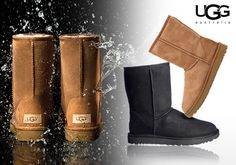 UGG αυθεντικές γυναικείες μπότες σε νέο αδιάβροχο design Ugg Boots, Riding Boots, Uggs, Shoes, Fashion, Horse Riding Boots, Moda, Zapatos, Shoes Outlet