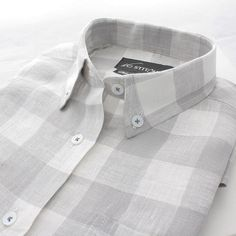 Formal Shirts Gentle Slim Fit Black Glen Plaid With White Windowpane Spread Collar Cotton Dress Shirt Lovely Luster Clothes, Shoes & Accessories