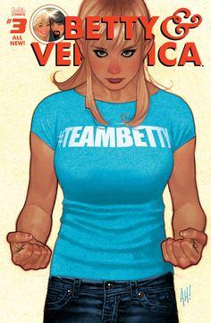 Adam Hughes - Betty & Veronica #3, Betty variant