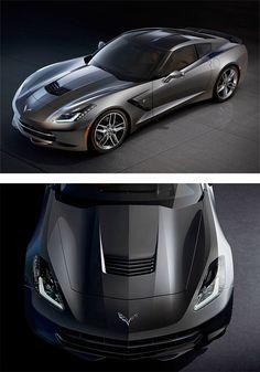 2014 Chevy Corvette Stingray | Inspiration Grid | Design Inspiration #corvettestingray
