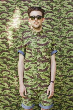 Camouflage #lifeinstyle #greenwithenvy
