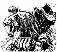 Leatherface Drawing Jason Vs Leatherface By Berty
