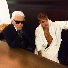 Justin Bieber Does PhotoShoot With Designer Karl Lagerfeld In Paris Justin Bieber Music, I Love Justin Bieber, Baby Boys, Justin Bieber Photoshoot, Justin Baby, Believe, Hot Boys, Karl Lagerfeld, My Idol